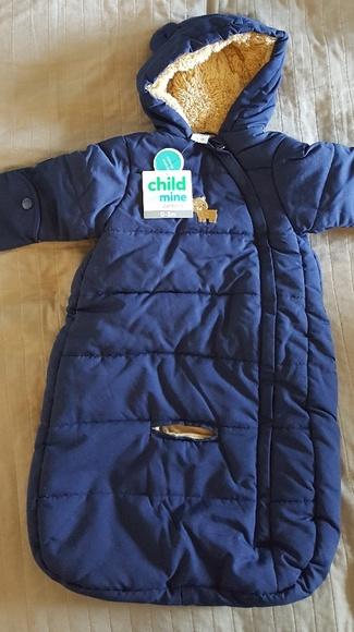 74dab49c9 Carter's Jackets & Coats | Carters Baby Infant Puffer Pram Snowsuit ...